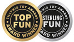 Tillywig Toy Awards Top Fun Sterling Fun Logos Award-Winning